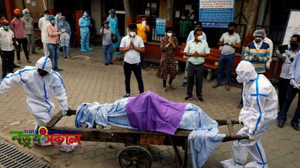 ২৪ ঘণ্টায় করোনা শনাক্তে ভারতের বিশ্বরেকর্ড : ৩৫২৩ জনের মৃত্যু