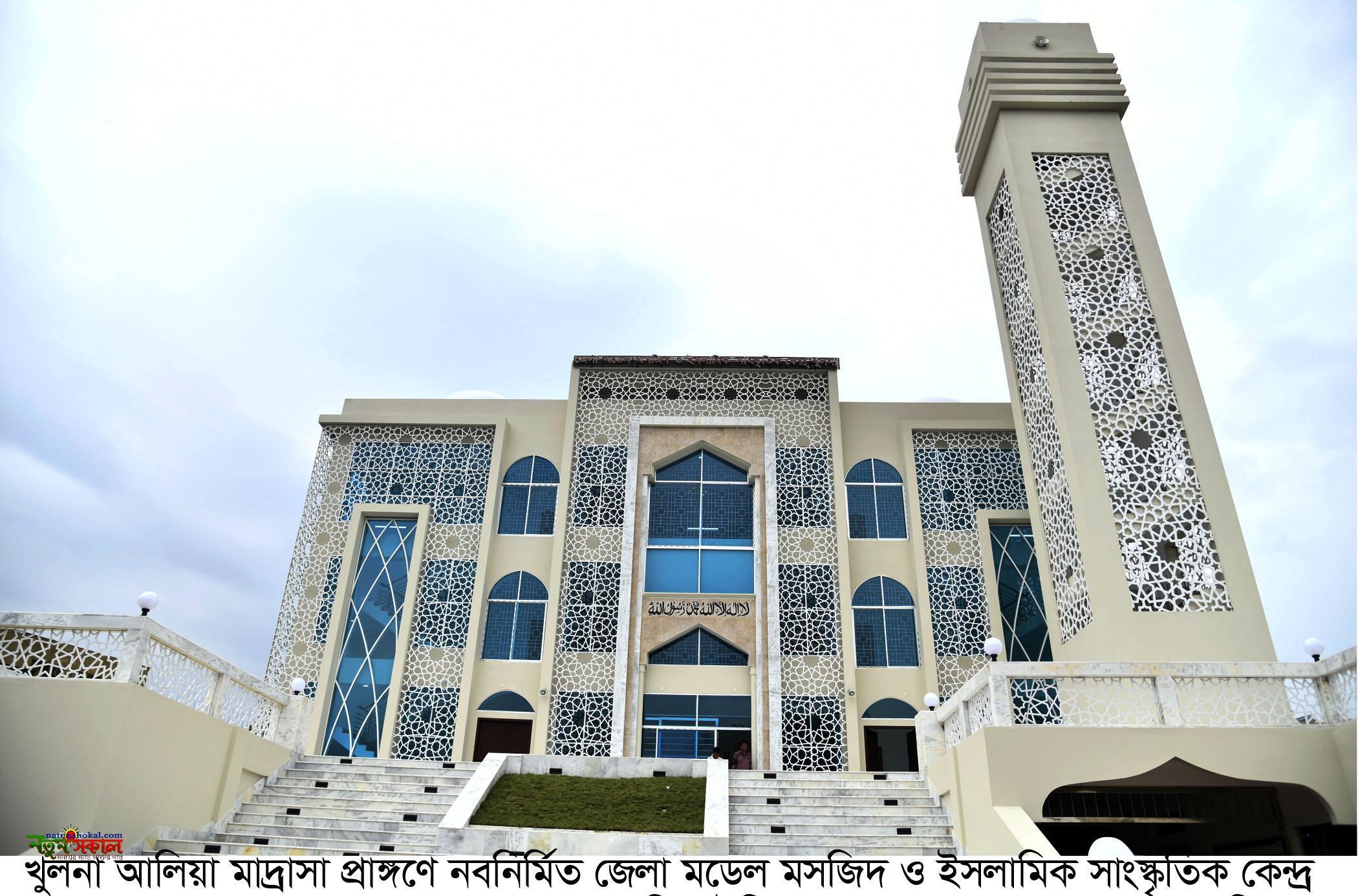 খুলনা জেলা মডেল মসজিদ উদ্বোধন করলেন প্রধানমন্ত্রী
