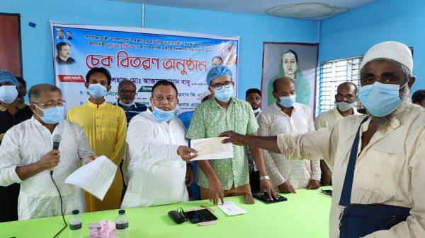 সরকার করোনাকালে পর্যাপ্ত মানবিক সহায়তার ব্যবস্থা করেছে-এমপি বাবু