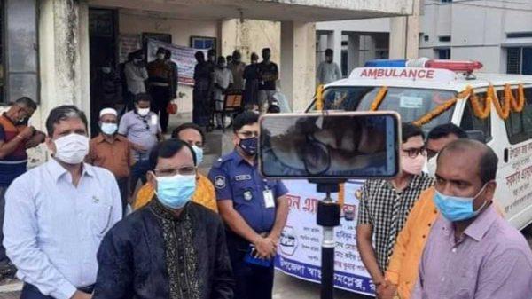 রামপাল উপজেলা স্বাস্থ্য কমপ্লেক্সে এ্যাম্বুলেন্স প্রদান